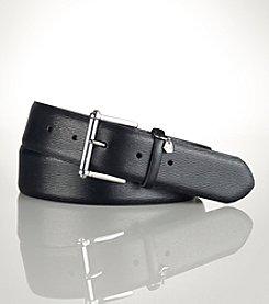 Lauren Ralph Lauren® Saffiano Roller-Buckle Belt