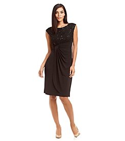 Connected® Soutache Wrap Dress