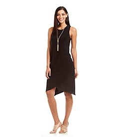 MSK® Jersey Necklace Dress