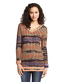 Taylor & Sage™ Striped Tunic Sweater