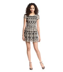Trixxi® Lace Skater Dress