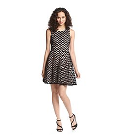 Trixxi® Chevron Skater Dress
