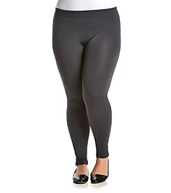 Pink Rose® Plus Size Fleece Knit Leggings