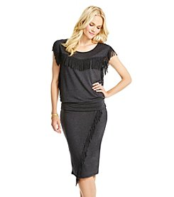 Jessica Simpson Skirt With Fringe
