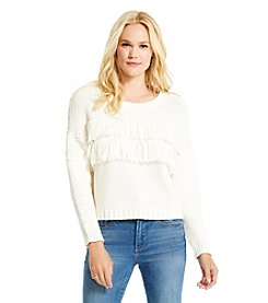 Jessica Simpson Fringe Sweater