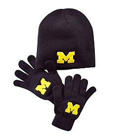 NCAA® Michigan Child's Hat & Glove Set