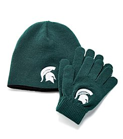 NCAA® Michigan State Child's Hat & Glove Set