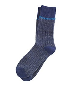 Cuddl Duds® Rib Socks With Lurex® Stripe