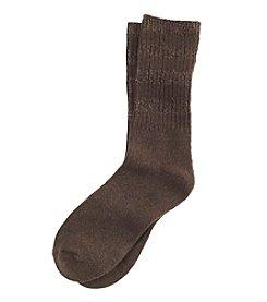 Cuddl Duds® Stripe Crew Socks