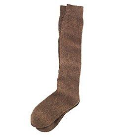 Cuddl Duds® Diamond Texture Knee High Socks