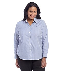 Lauren Ralph Lauren® Plus Size Stripe Top