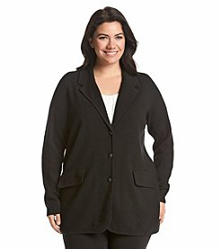 Lauren Ralph Lauren® Plus Size Sweater Blazer