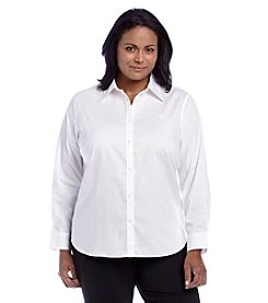 Lauren Ralph Lauren® Plus Size Solid Top