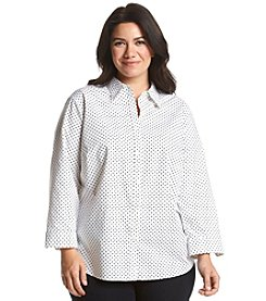 Lauren Ralph Lauren® Plus Size No Iron Top