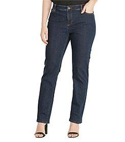 Lauren Ralph Lauren® Plus Size Straight Jeans