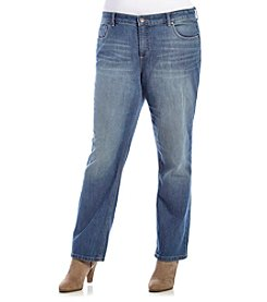 Ruff Hewn Plus Size Straight Jeans