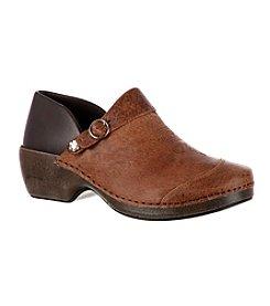 Rocky 4EurSole® Western Embellished Leather Clogs