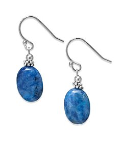 Athra Sterling Silver Sodalite Earrings