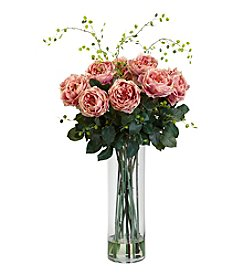 Nearly Natural® Giant Fancy Rose and Willow Arrangement