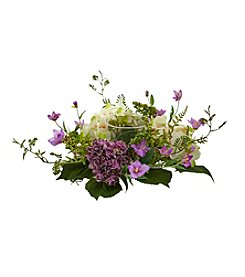 Nearly Natural® Hydrangea Berry Candelabrum