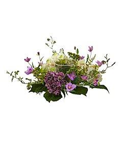 Nearly Natural® Hydrangea Berry Candelabrum