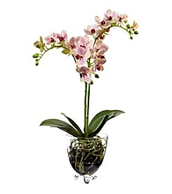 Nearly Natural® Raspberry Orchid Elegance Arrangement