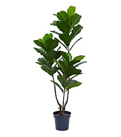 Nearly Natural® UV Resistant Fiddle Leaf Tree