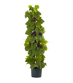 Nearly Natural® Grape Leaf Deluxe Climbing Plant