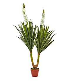 Nearly Natural® Flowering Yucca Plant