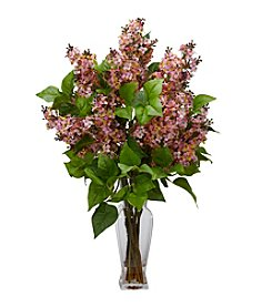 Nearly Natural® Lilac Silk Flower Arrangement