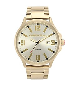 Quiksilver® Men's The Beluka Watch - Gold