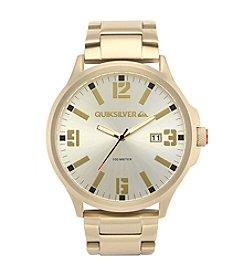 Quiksilver® Men's The Beluka Watch - Gold