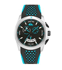 Quiksilver® Men's The Guide Watch - Black/Blue