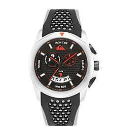 Quiksilver® Men's The Guide Watch - Black/Grey