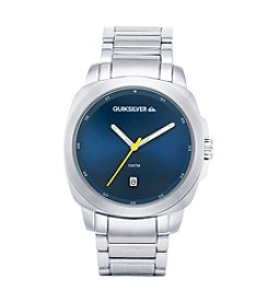 Quiksilver® Men's The Sovereign Watch - Silver/Blue