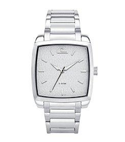 Quiksilver® Men's The Quad Watch - Silver