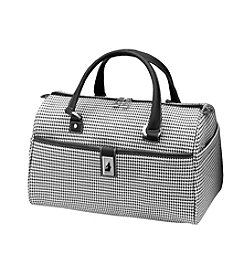 London Fog® Black and White Houndstooth Cambridge 360 Ultra Light 16
