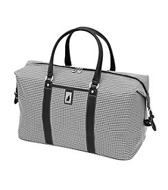 London Fog® Black and White Houndstooth Cambridge 360 Ultra Light 22
