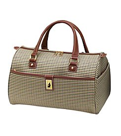 London Fog® Olive Houndstooth Cambridge 360 Ultra Light 16
