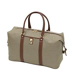 London Fog® Olive Houndstooth Cambridge 360 Ultra Light 22