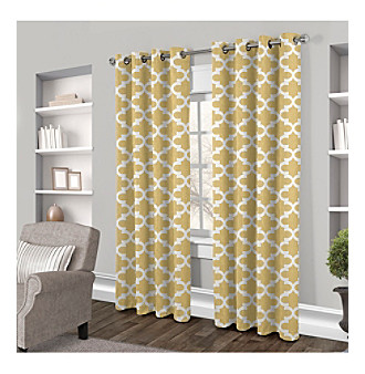 Exclusive Home Neptune Grommet Window Curtain