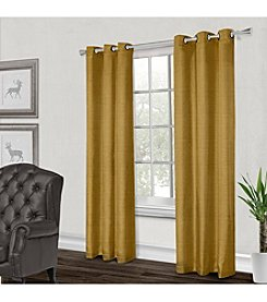 Exclusive Home Dupioni Grommet Window Curtain