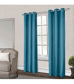 Exclusive Home Antique Satin Grommet Window Curtain