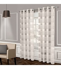 Exclusive Home Michel Grommet Window Curtain