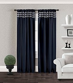 Exclusive Home Bling Rod Pocket Window Curtain