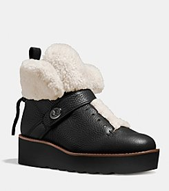 COACH URBAN HIKER SHEARLING BOOT