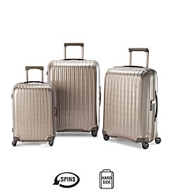 Hartmann® InnovAire™ Hardside Ivory Gold Luggage Collection + $50 Gift Card by mail