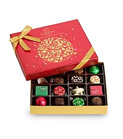 Godiva Limited Edition 16-Pc. Holiday Gift Box