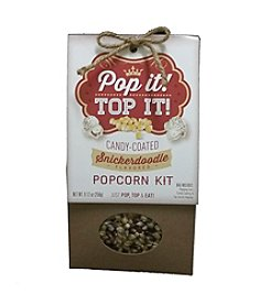Pop It Top It Snickerdoodle Popcorn Kit