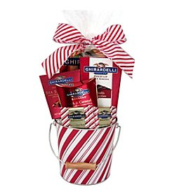 Design Pac Ghirardelli Peppermint Pail Gift Set